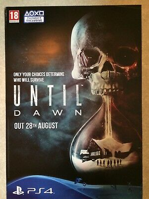Until Dawn - Promotional Game Poster