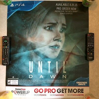 Until Dawn - Official Promotional Game Poster
