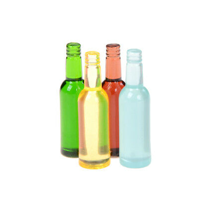6pcs/set 1:12 dollhouse miniature dollhouse accessories mini wine bottles HU