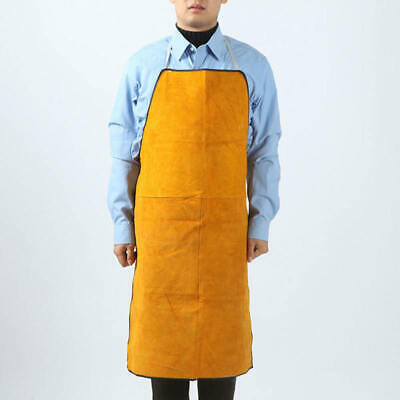 Yellow Safurance Welding Apron  Safety Clothing Self Protect well nice sdf