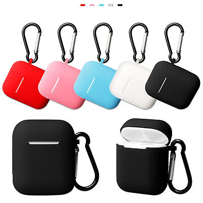 Silicone Cover Case Shell Sleeve Protector For Apple AirPods 2nd Gen Earphones