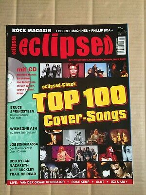 Eclipsed - 3/2009 - Top 100 Cover-Songs / Bruce Springsteen / Bob Dylan  (Dz86)