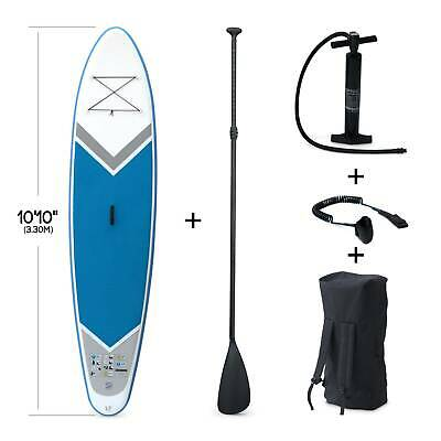"Pack stand up paddle gonflable Rico 10'10"" avec pompe haute pression simple act"