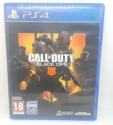 Call Of Duty Black Ops 4 - Playstation 4 - Broken Case