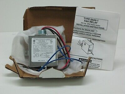 White Rodgers-Emerson 8A04-1 Relay Fan Switch, 24 VAC