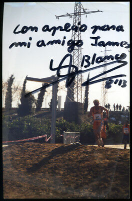 BLANCO *UNKNOWN ATHLETE* 6x4 Signed Autographed Photo