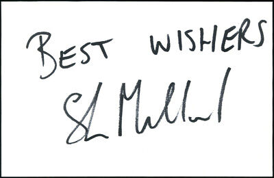 SHANE MILLARD *USA / LONDON BRONCOS* Rugby 6x4 Signed Autographed Card
