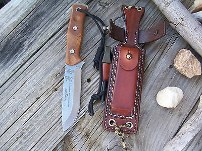 "TOPS BOB Fieldcraft LF Custom Leather Survivor Sheath ""ONLY"",Bushcraft,Outdoor"