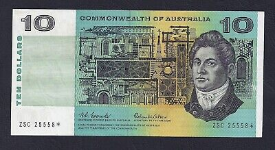 Commonwealth of Australia 1966 Coombs/Wilson $10 Star Banknote ZSC* R301S
