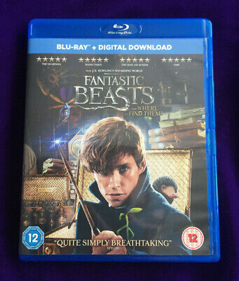 Fantastic Beasts And Where To Find Them - Blu Ray & Digital UV Copy Region Free