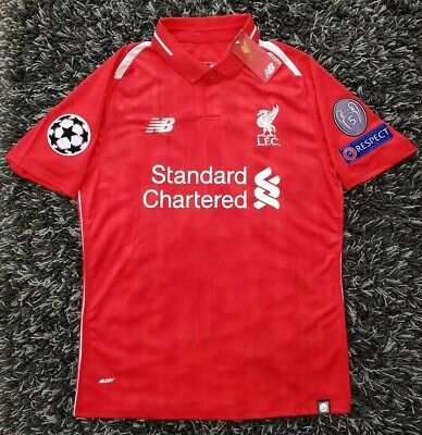 e47682541da Liverpool FC New Balance Mens 2018 19 Champions League Europe Edition Home  Shirt