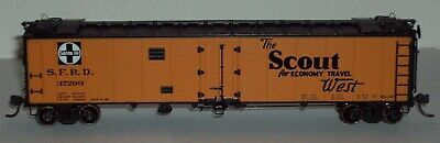 HO Athearn Ready to Roll AT&SF 50' Reefer #37299
