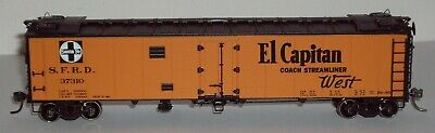 HO Athearn Ready to Roll AT&SF 50' Reefer #37310