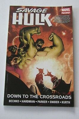 Savage Hulk Volume 2: Down to the Crossroads  Marvel Comics Graphic Novel Book