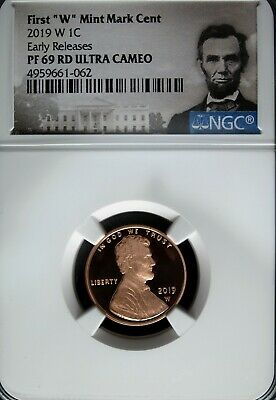 2019 W NGC PF 69 Red Ultra Cam Lincoln Shield ☆☆ Early Releases ☆☆Portrait Label