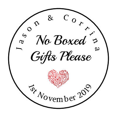 """Design #281 105 Personalised /""""Custom Text/""""  Wedding Favours Labels"""