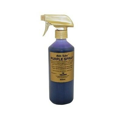 Gold Label Purple Spray Animal Disinfectant 500ml
