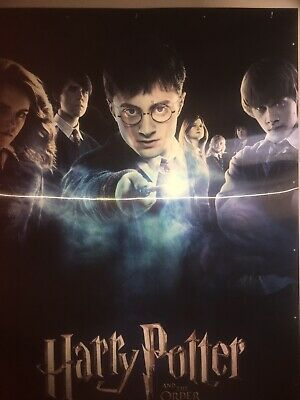 Harry Potter and The Order Of The Phoenix 3d lenticular movie poster