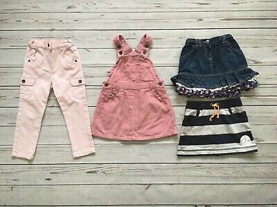 Girls Age 2-3 Years Skirts, Jeans And Pinafore Dress Bundle Debenhams, F&F, Etc