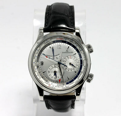 Jaeger LeCoultre Master Control World Geographic s. steel #146.8.32.s watch 42MM