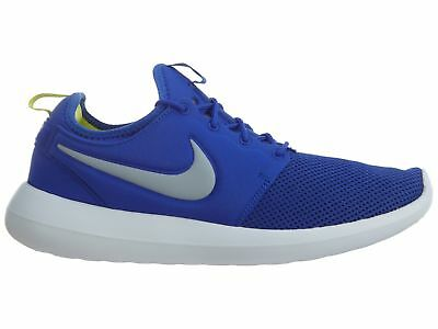 b931c3292fd1e Nike Roshe Two Mens 844656-401 Paramount Blue Wolf Grey Running Shoes Size  9.5