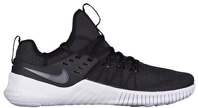 c22a4f3d5561 Nike Free Metcon Mens AH8141-001 Black White Cross Training Shoes Size 14