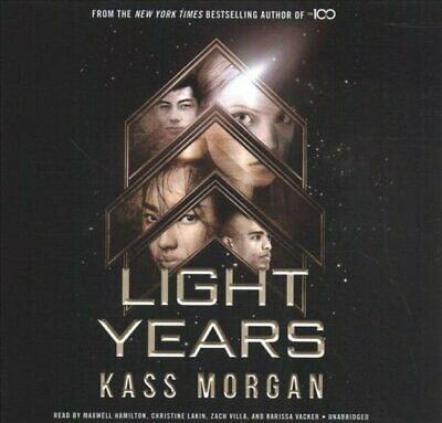 Light Years by Kass Morgan 9781549147890 | Brand New | Free UK Shipping