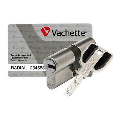 cylindre vachette  double radial nt 42,5x42,5 assa abloy
