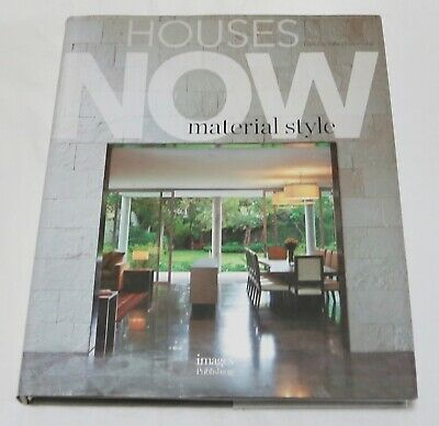 Houses Now: Material Style by Images Publishing Group Pty Ltd (Hardback, 2014)