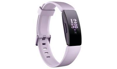Fitbit Inspire HR Smart Watch - Lilac With A Large And Small Wristband  NEW_UK