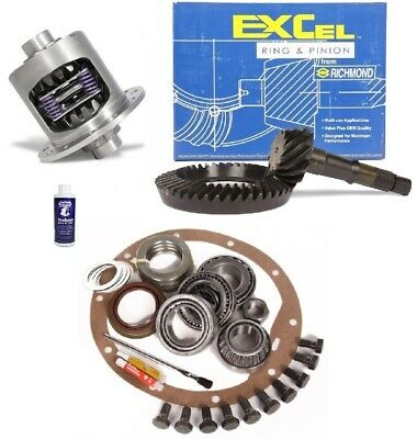 """1983-2009 Ford 8.8/"""" 3.73 Ring and Pinion TIMKEN Master Install Excel Gear Pkg"""