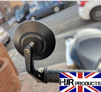 CNC Bar End Mirrors Triumph Street Triple 675  pair Genuine HJR Products