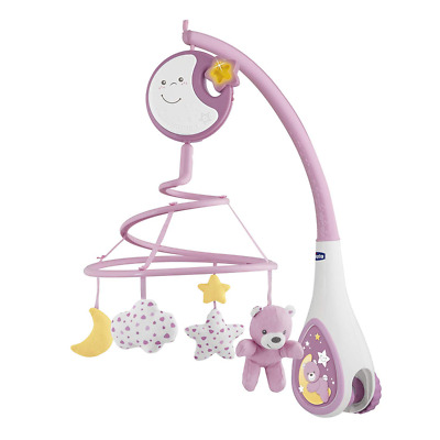 Chicco First Dreams Cot Mobile Baby Lullaby Night Light and Music