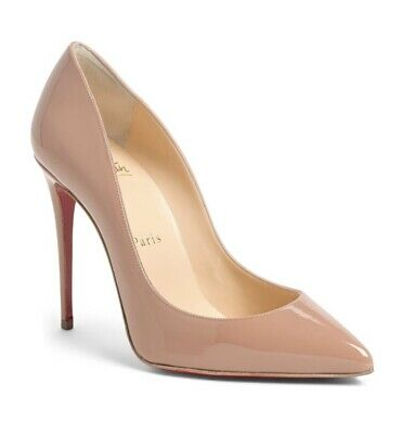 ba7bb6289f1 CHRISTIAN LOUBOUTIN PIGALLE Follies Merlot Suede Pointy Toe Pump 39 ...