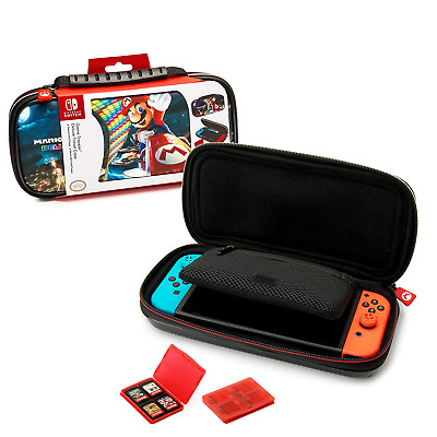 Nintendo Switch Mario Kart 8 Deluxe Carrying Case – Protective Deluxe Travel – –