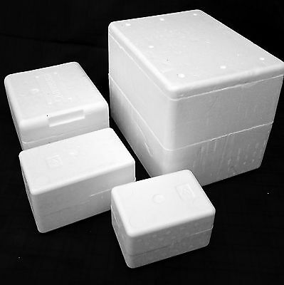 Thermo Insulation Polystyrene Boxes, Food, Fish, Reptiles, Perishable,Various