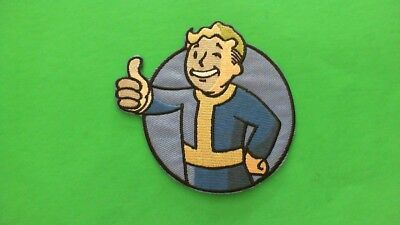 fallout Patch Bioworld Merch Vault Boy iron on transfer BN embroidered senses