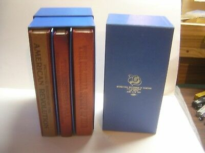 Teamsters 21St 1976 Las Vegas Convention 3 Leather Books-History!