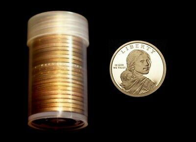 2019 S Native American Sacagawea Mint Proof Roll ~ Set of 25 US Coins