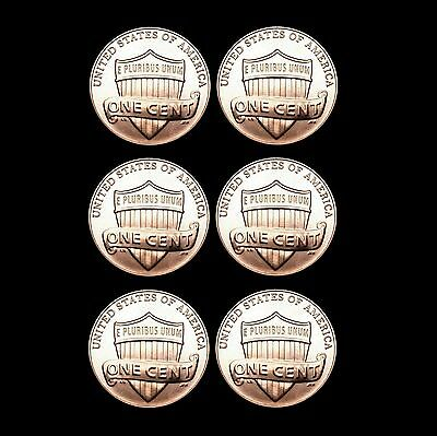 2017 2018 2019 P+D Lincoln Shield Set Uncirculated US Mint Coins from Bank Roll