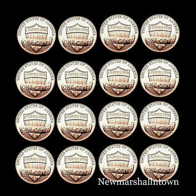 2012 2013 2014 2015 2016 2017 2018 2019 P+D Lincoln Shield Set from a Bank Roll