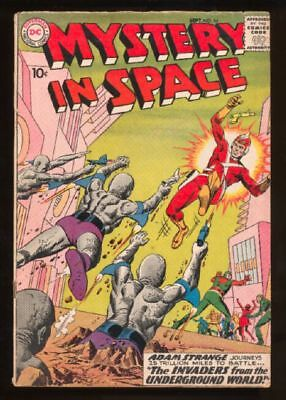 Mystery in Space (1951 series) #54 in Very Good condition. DC comics [ qf]