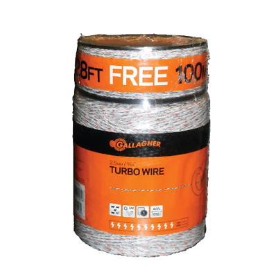 Gallagher G620564 Electric Fence Turbo Wire animal control 1,640 Feet