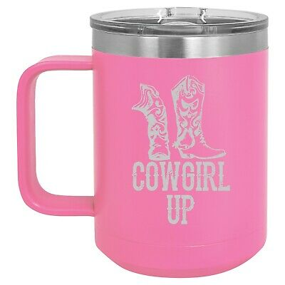 Tumbler 20oz 30oz Travel Mug Cup Stainless Steel Princess Wears Boots Cowgirl 24 99 Picclick