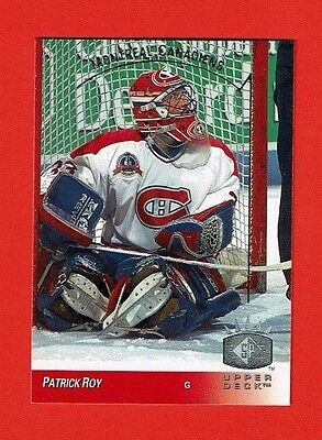 1993-94 Upper Deck SP insert # 81 Patrick Roy MONTREAL CANADIENS GOALIE