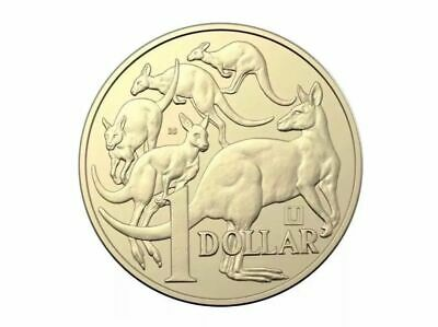 "2019 U Privy Mark Australian $1 One Dollar Coin - Uncirculated ""With The No 35"""