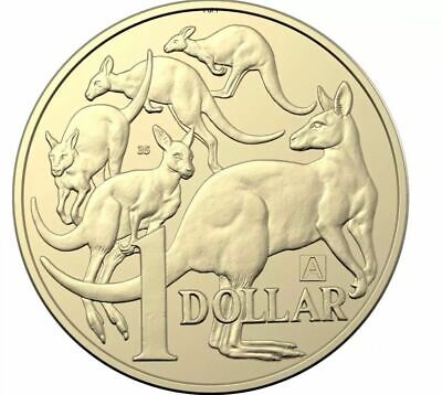 "2019 "" A "" Privy Mark Australian $1 One Dollar Coin - Uncirculated ""With No 35"""