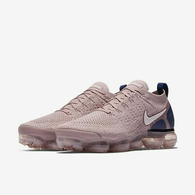 Nike Air Vapormax Flyknit 2 Size 11-11.5 Diffused Taupe Phantom Blue 942842-201