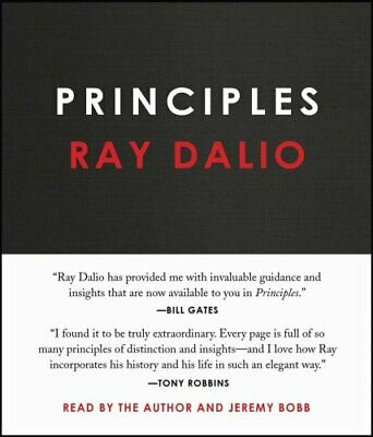 Principles Life and Work by Ray Dalio 9781508243243   Brand New