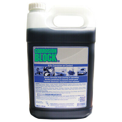 Corrosion Block 20004 Liquid 4-Liter Refill Non-Hazmat Non-Flammable And